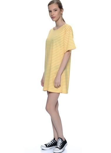 Glamorous Elbise Sarı
